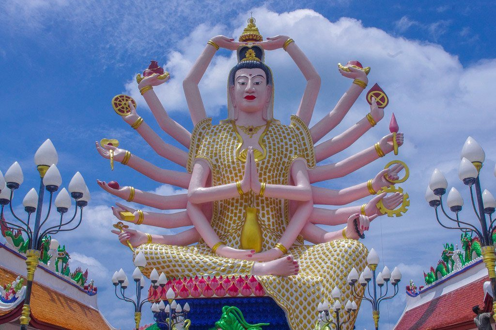 Cundi Guanyin Koh Samui Thailand_