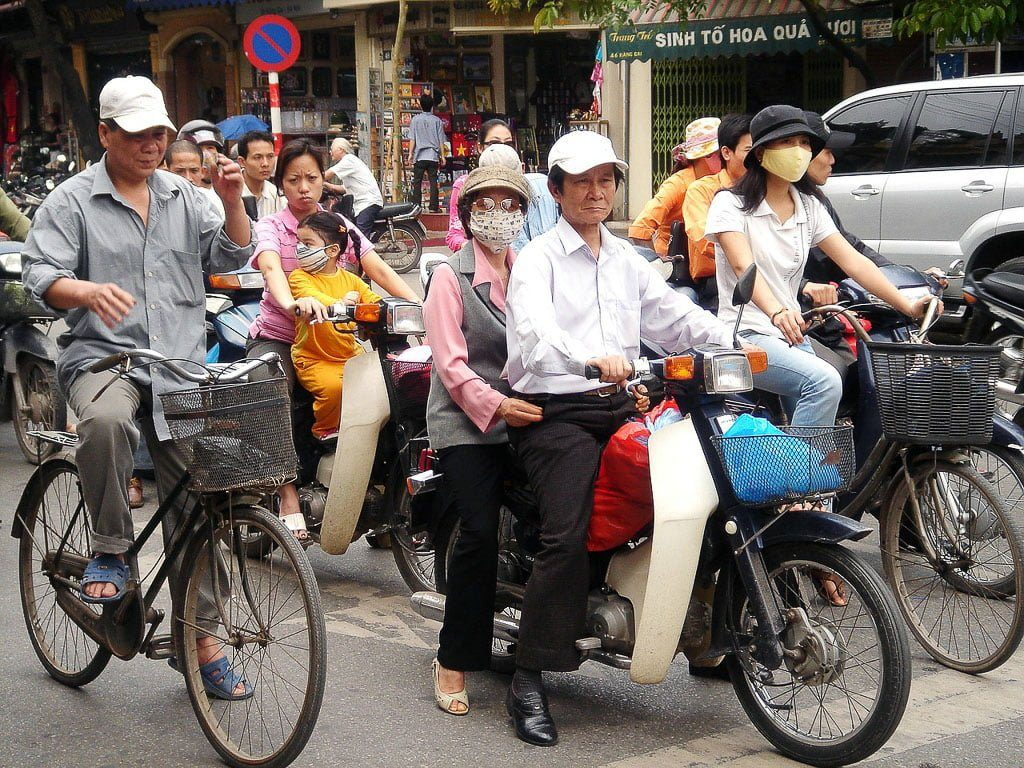 Moped Hanoi I First Time Visitor Tips- Hanoi & Halong Bay