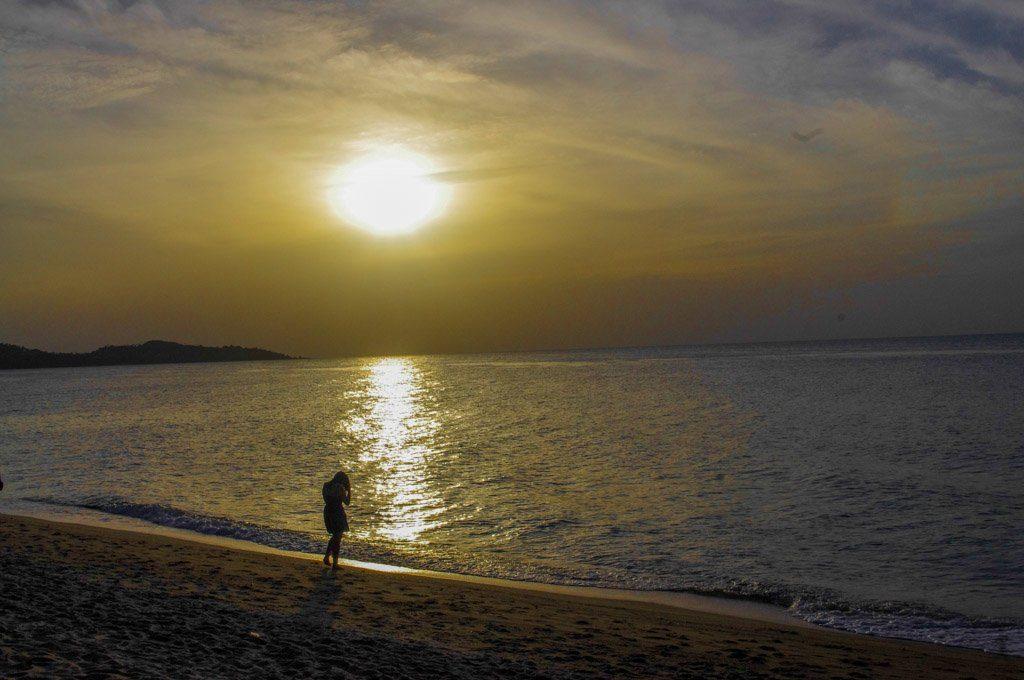 Sunset Koh Samui Thailand_