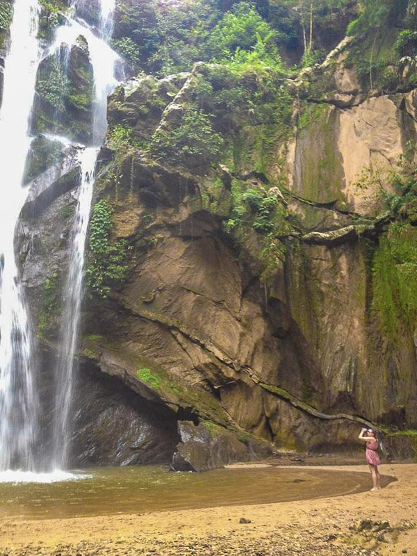 Waterfalls in Pai, Thailand