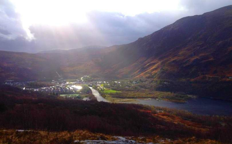 Kinlochleven West Highland Way Scotland