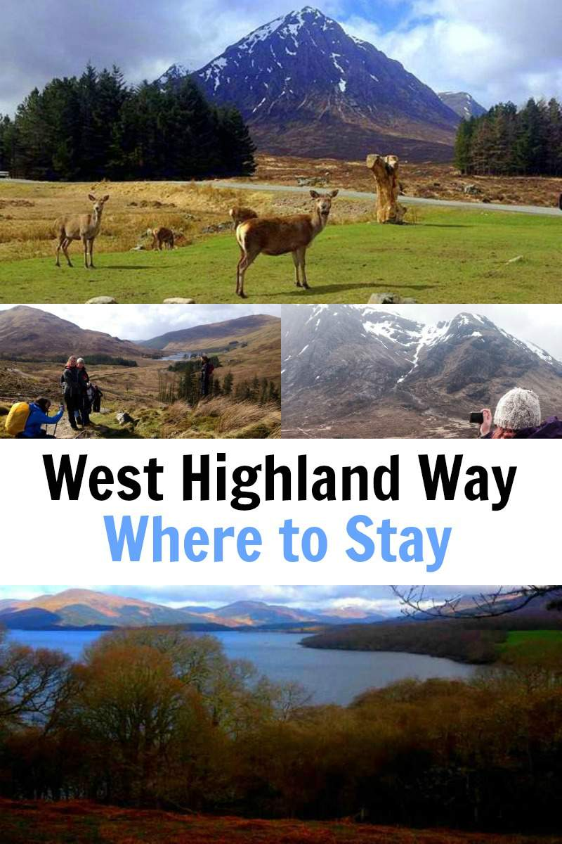 West Highland Way Accommodation - Where to Stay
