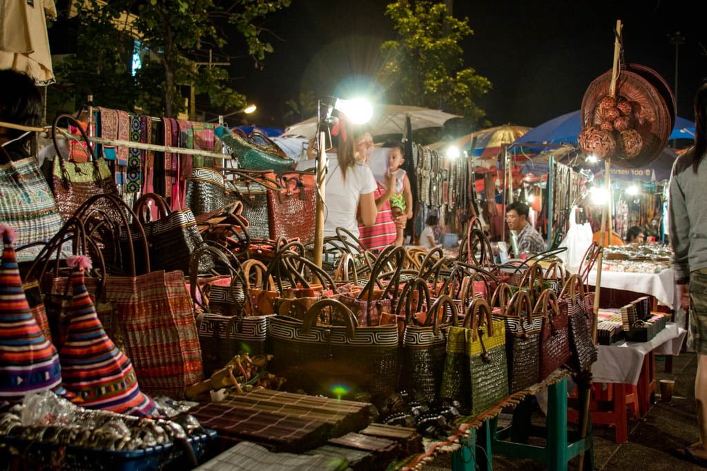 Night Market I Don't Leave Chiang Mai Without Trying I5 Unique Things to do in Chiang Mai