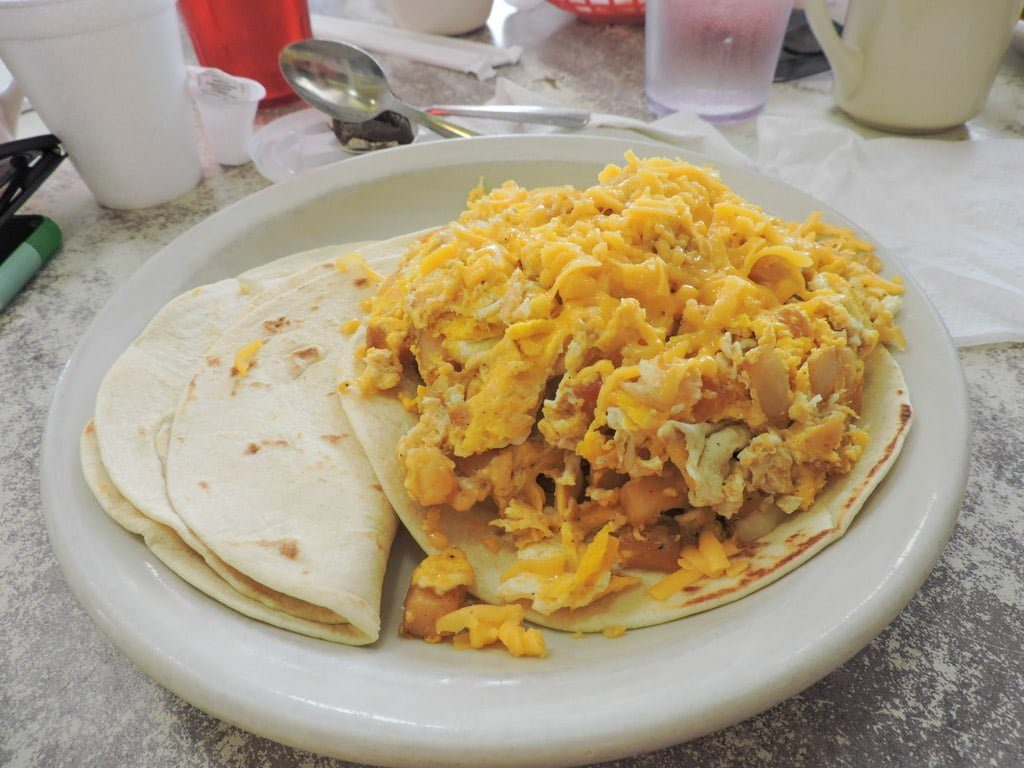 Don Juan El Taco Grande Juan in a Million | Austin all day breakfast