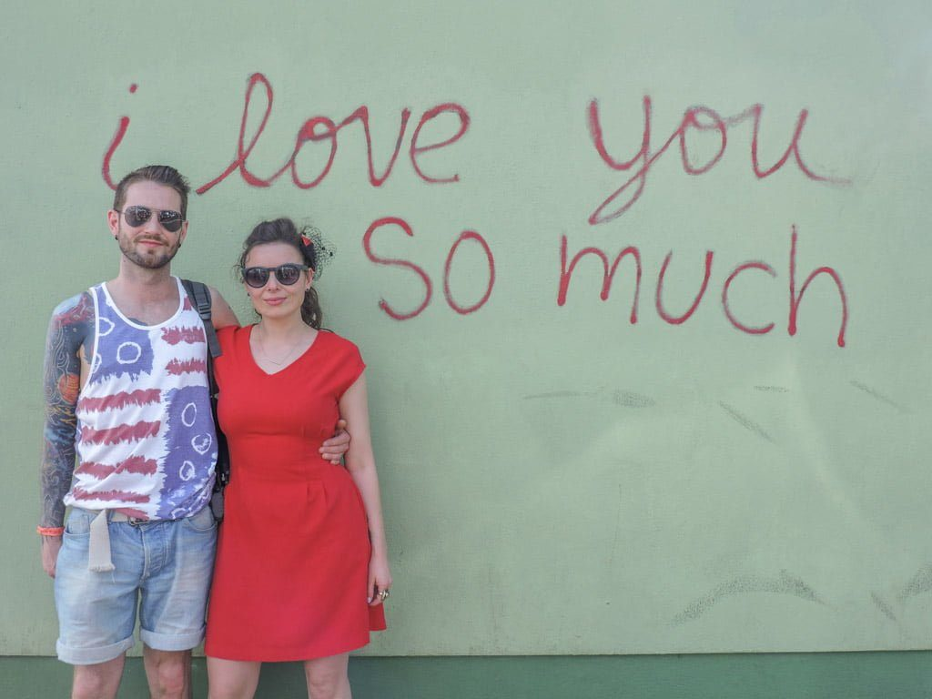 I Love You So Much Wall | Ten Cool Things to do in Awesome Austin