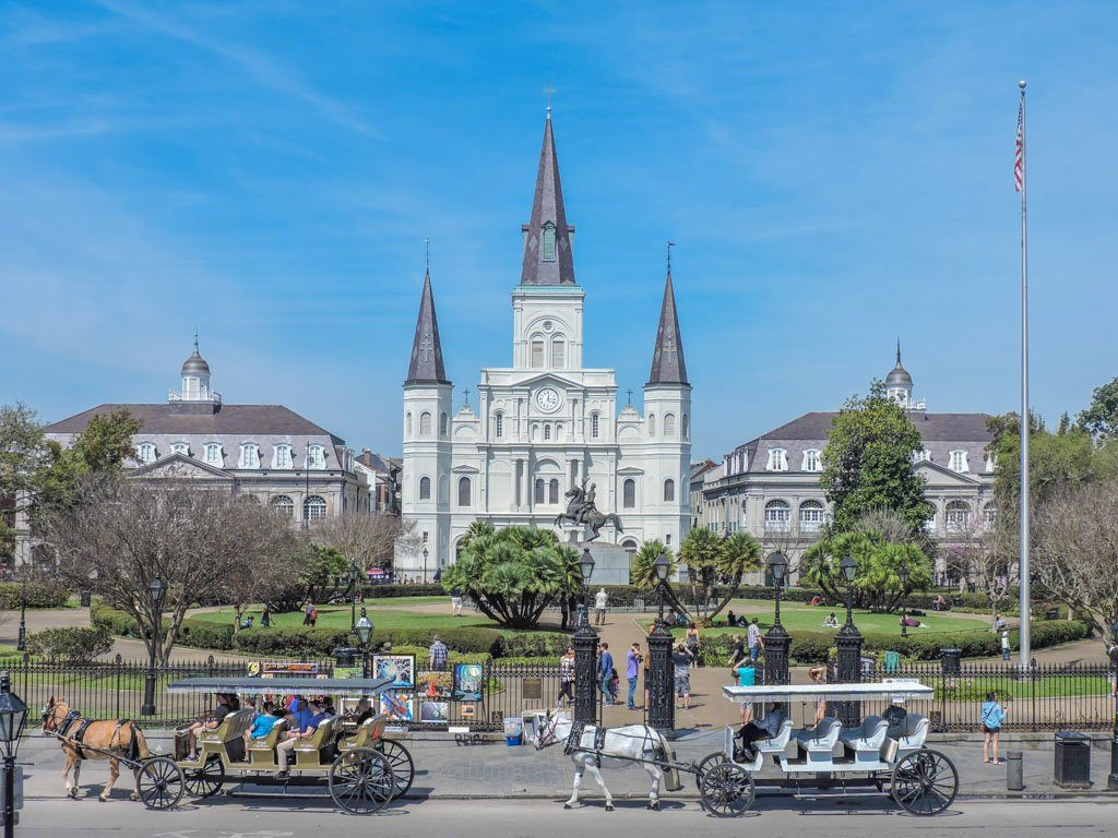 Jackson Square I Things to do in New Orelans