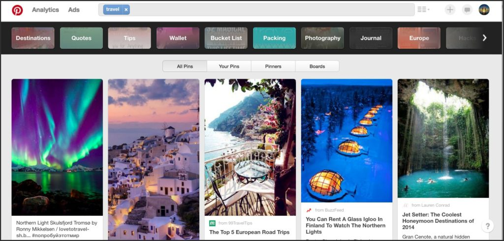 Pinterest For Travel Blogging Newbies Pinterest Search