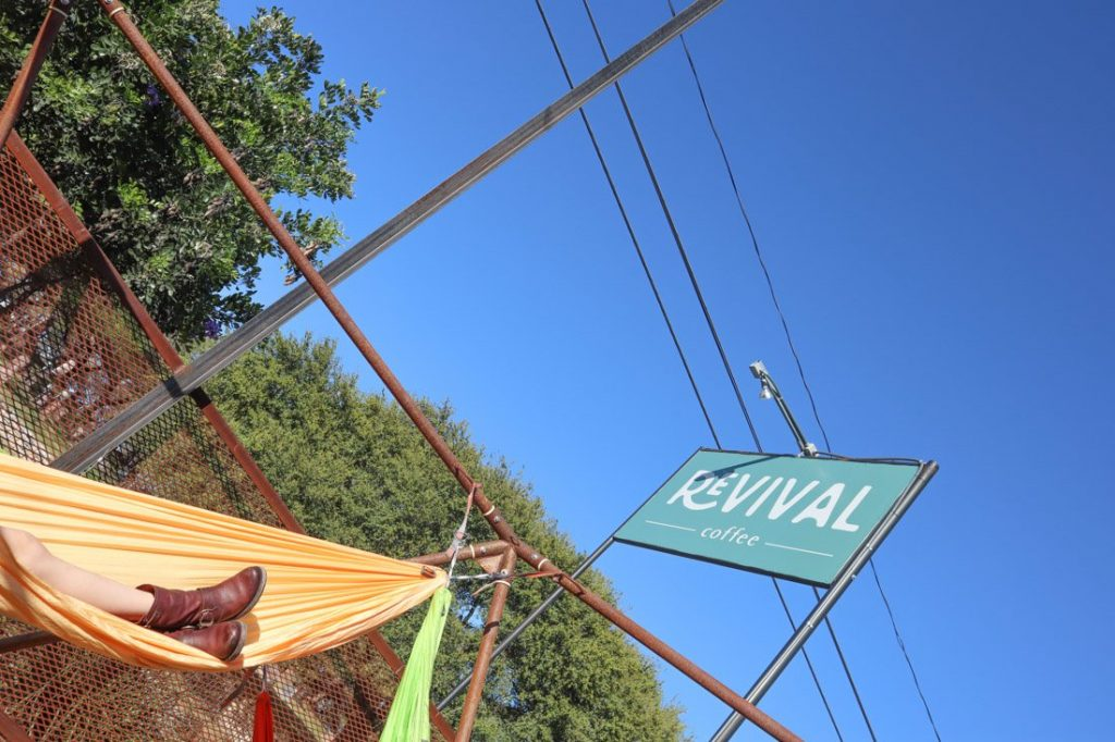 Revival Coffee Shop Austin Hammocks