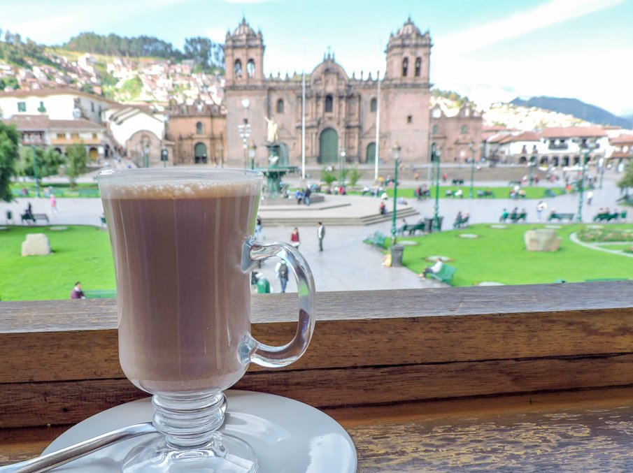 Hot Chocolate in Cusco