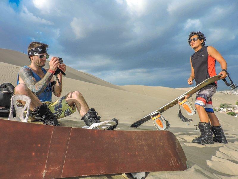Sandboardng Peru | Ica