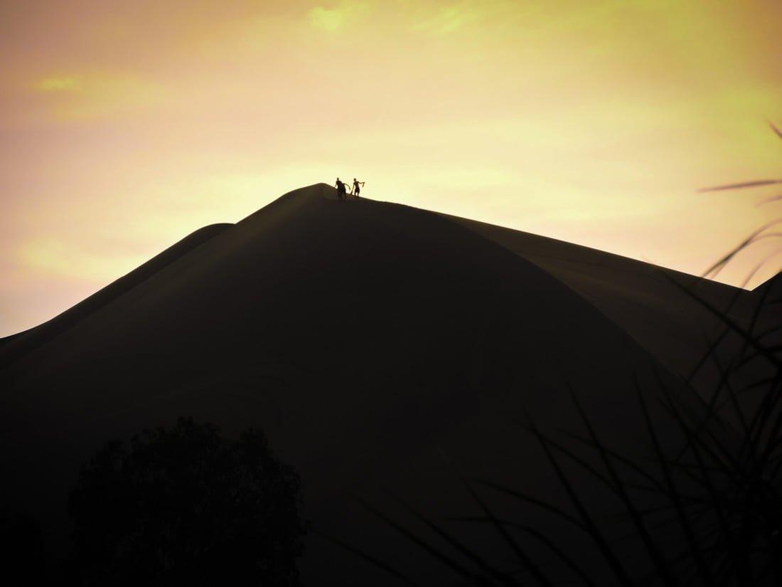 Huacachina sunset Peru