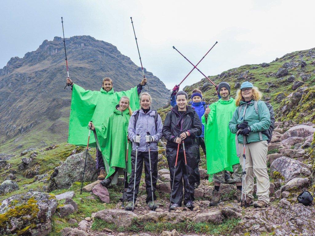 The Lares Trek to Machu Picchu Alpaca Expeditions Hikers