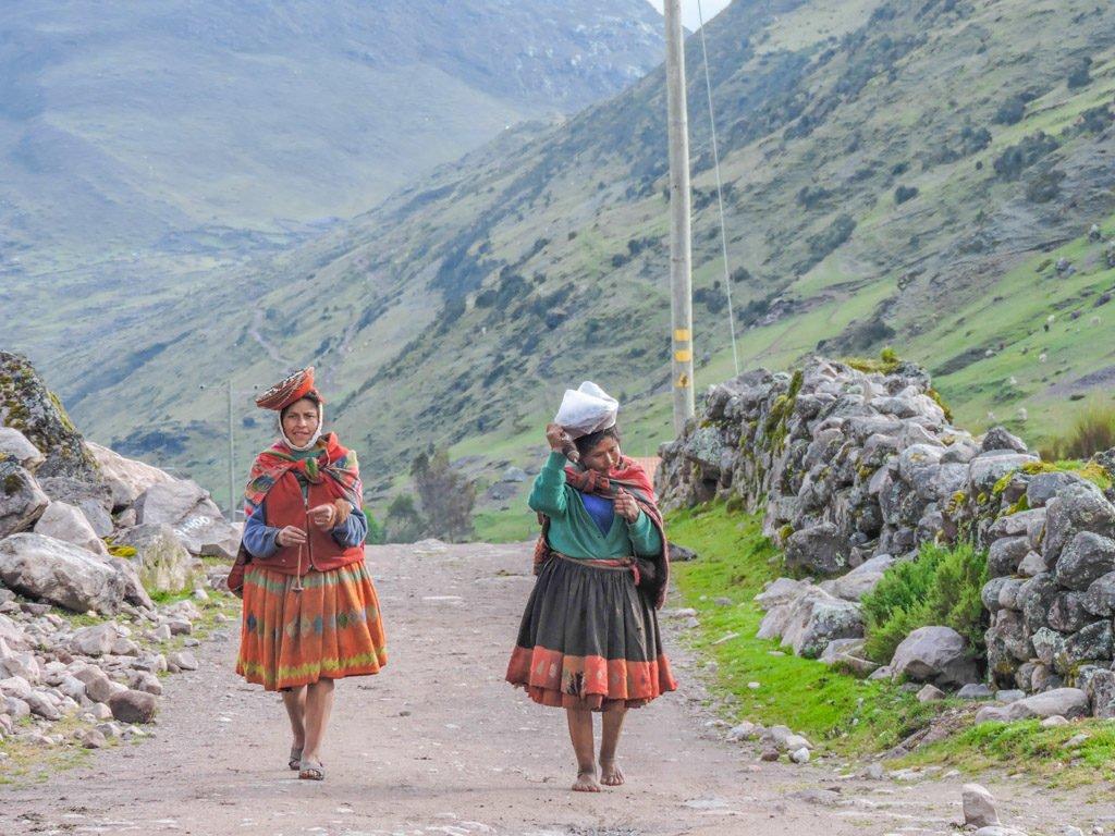 The Lares Trek to Machu Picchu Alpaca Expeditions Locals