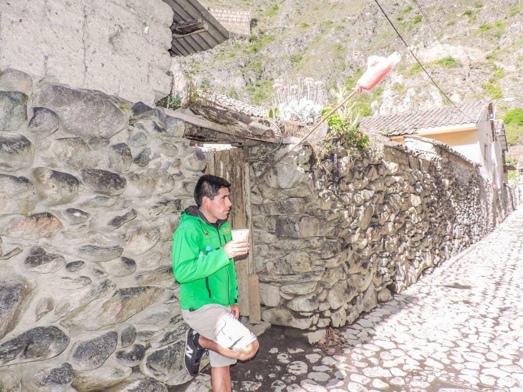 The Lares Trek to Machu Picchu Alpaca Expeditions Ollataytambo