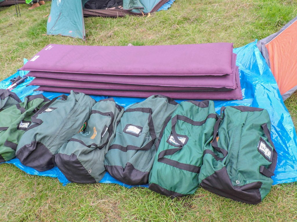 The Lares Trek to Machu Picchu Peru Sleeping Bags