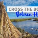 Crossing the Border with Bolivia Hop