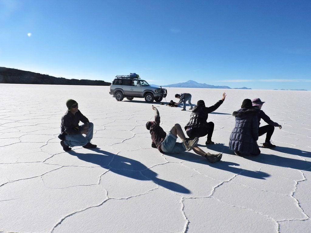 Bolivia's Salar de Uyuni, Salt Flats