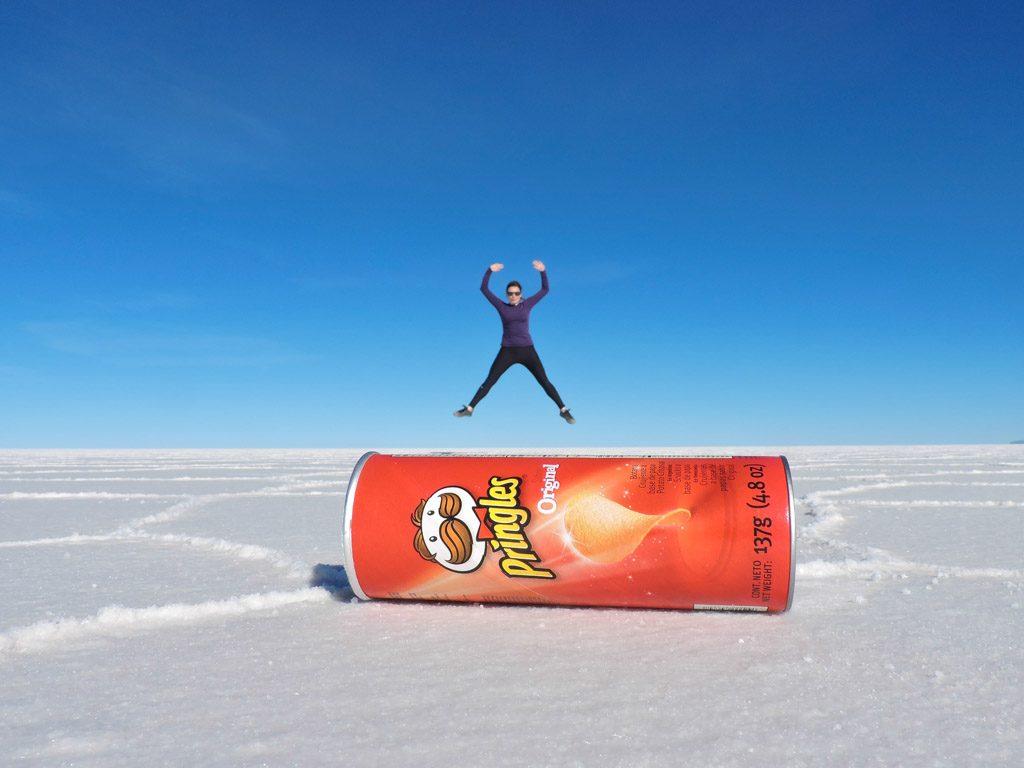 Bolivia's Salar de Uyuni, Salt Flats, Pringles