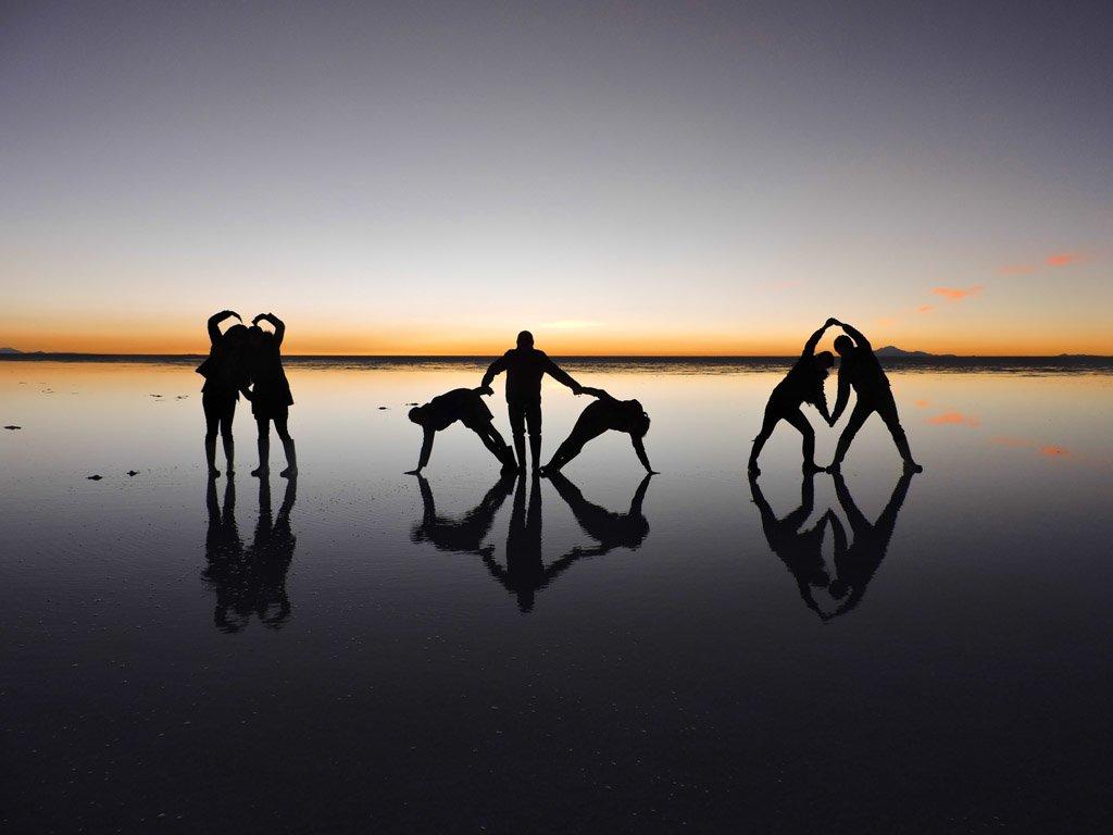 Bolivia's Salar de Uyuni, Sunset Shots, Salt Flats,_