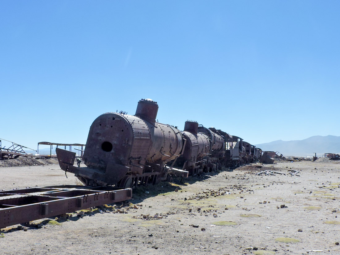 Great Train Graveyard Uyuni