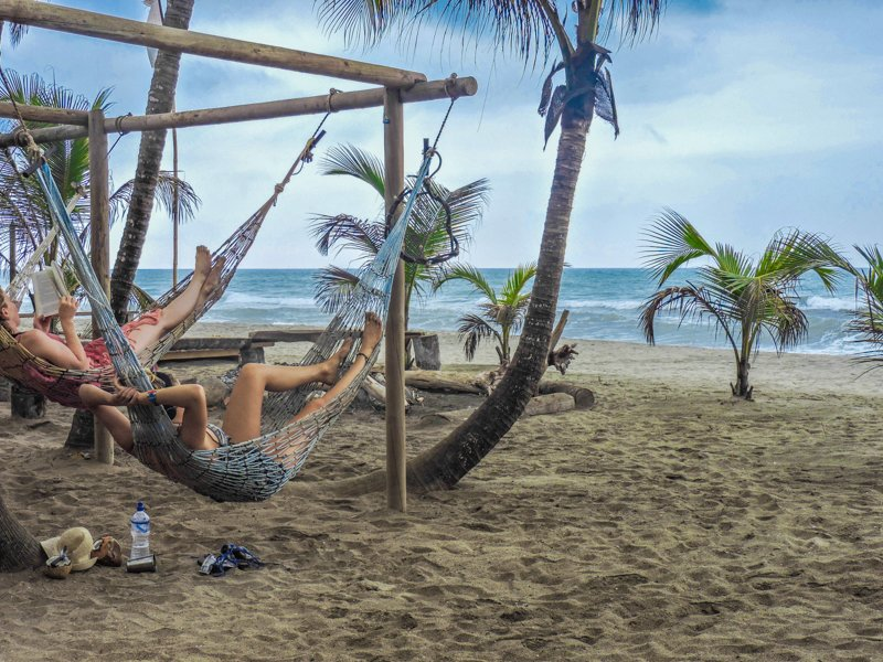 Hammocks | Costeno Beach Surf Camp Ecolodge, Colombia