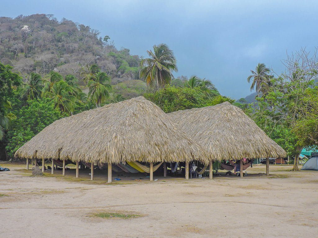 Hammocks at El Cabo San Juan I Tayrona National Park I Colombia