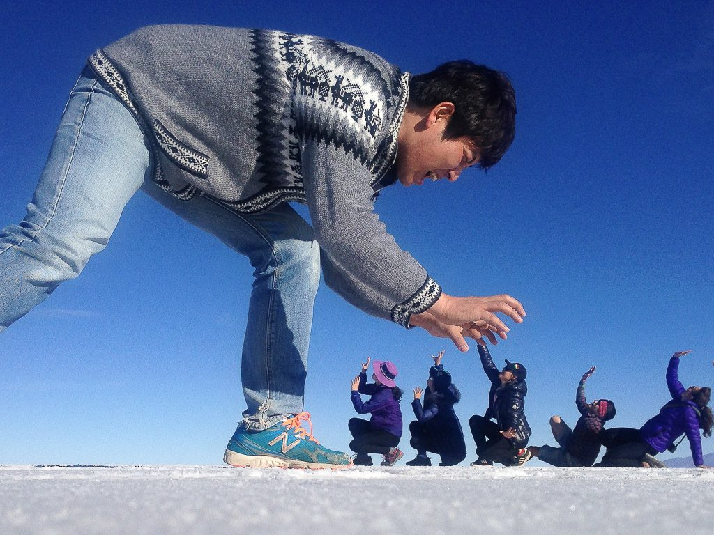 Salar de Uyuni, Salt Flats, Giant Shot