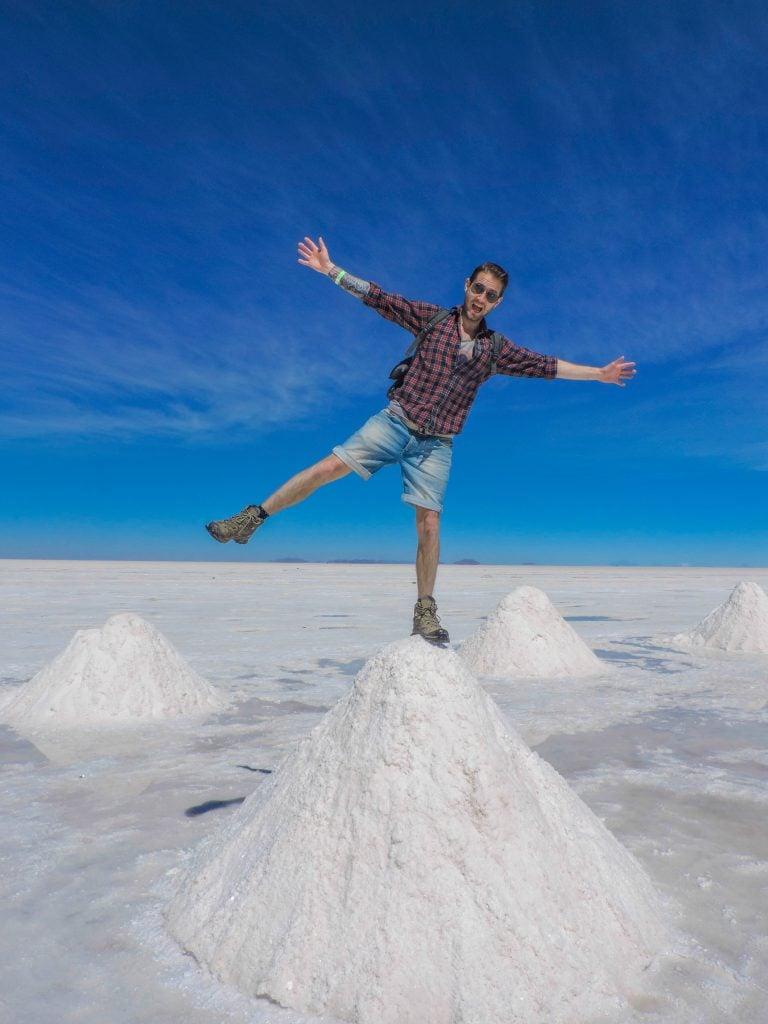 Salar de Uyuni, Salt Flats Salt Mountains