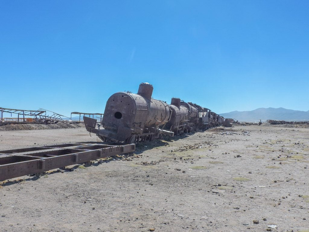 Salar de Uyuni, Salt Flats Train Station