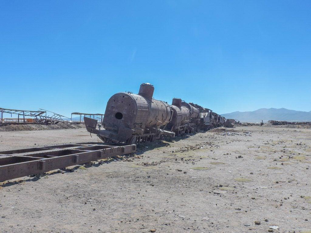Salar de Uyuni, Salt Flats Train Station