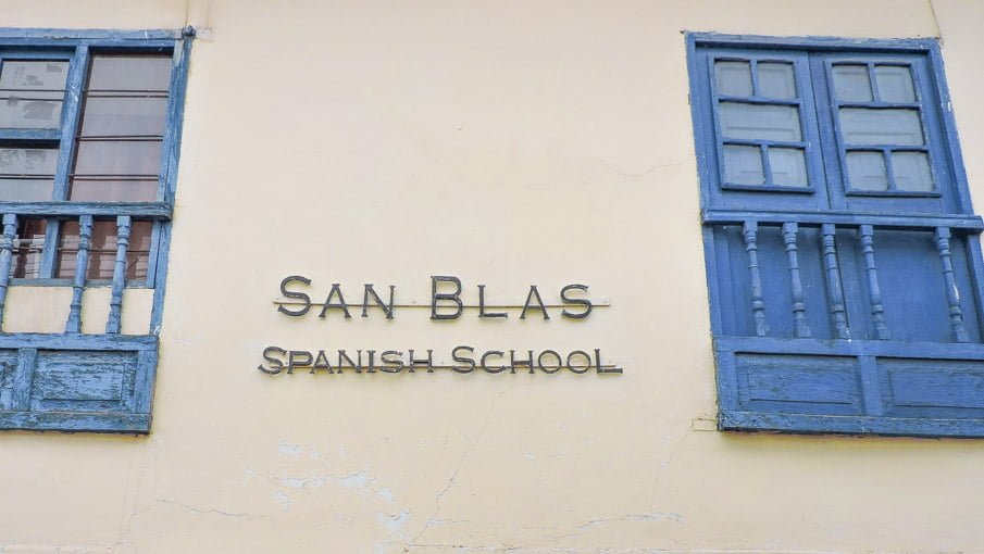 Spanish school Cusco