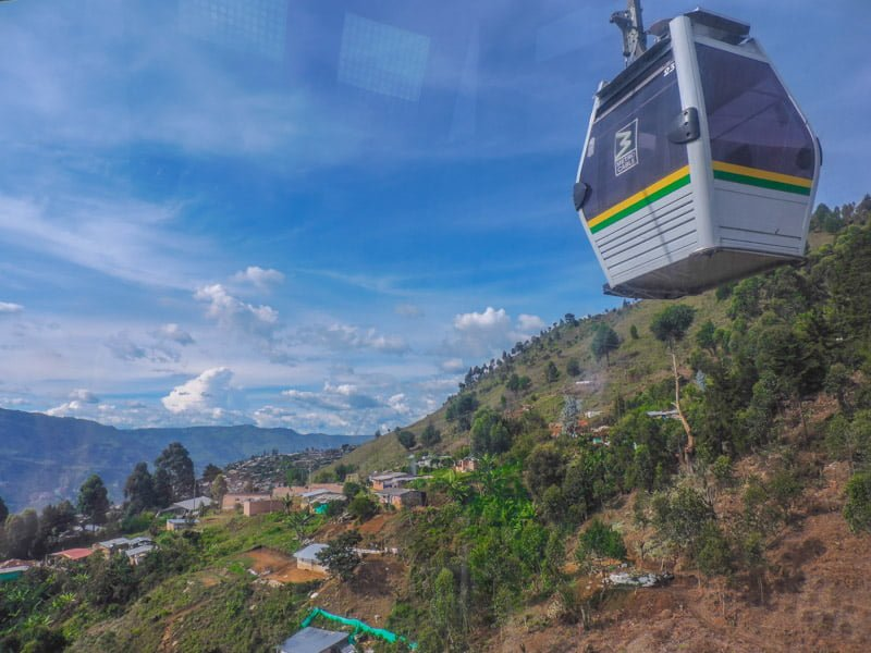 Metrocable Cars | Medellin Itinerary
