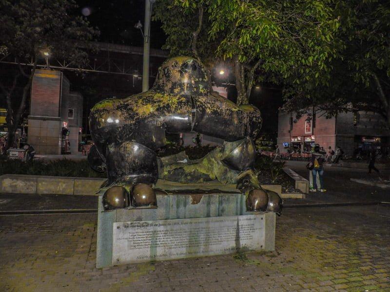 Fernando Botero - Bird | Medellin Itinerary