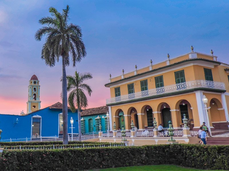 Brunet Palace + Plaza Mayor Sunset | Trinidad, Cuba