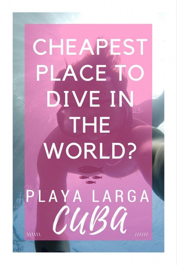Scuba Diving in Cuba | Bay of Pigs