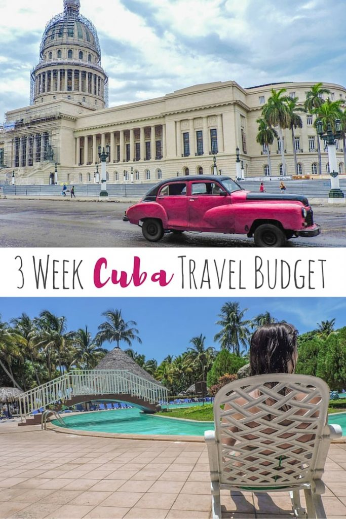 Travel Budget for 3 Weeks in Cuba - A guide to how much does accommodation, food, travel, trips, and socialising costs in Cuba.