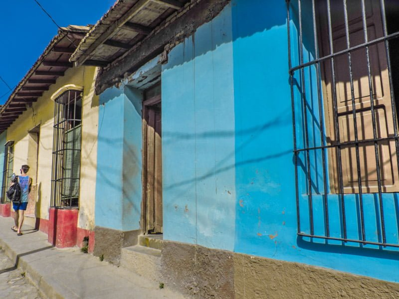 Trinidad Cuba Colourful Houses