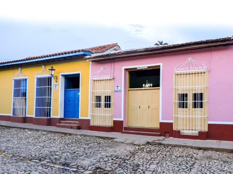 Trinidad Cuba Houses