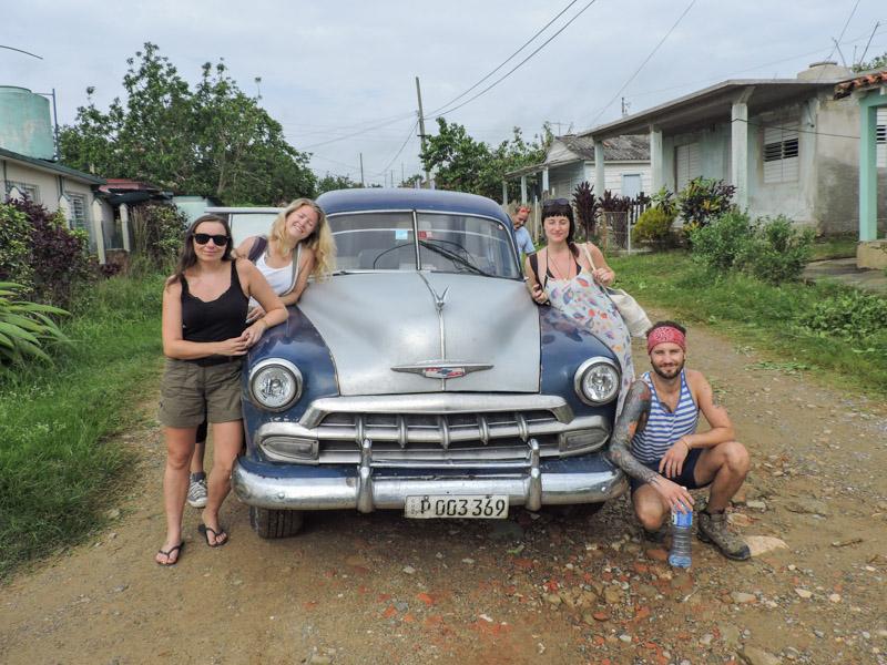 Vintage Car Vinales Cuba_