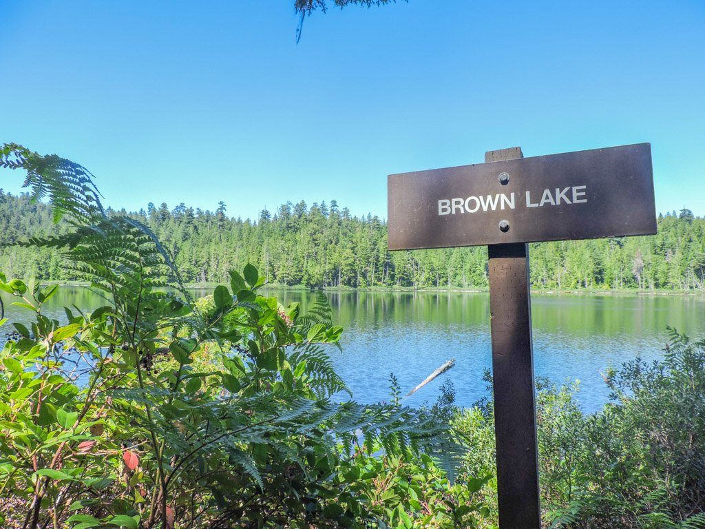 Brown Lake | Sunshine Coast BC