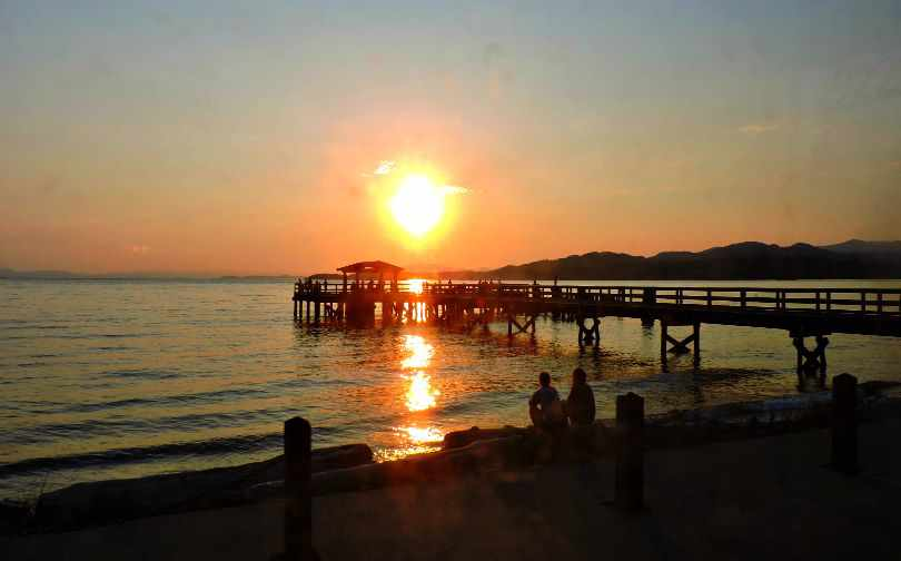 Davis Bay Sunset Photo of the Fortnight 10