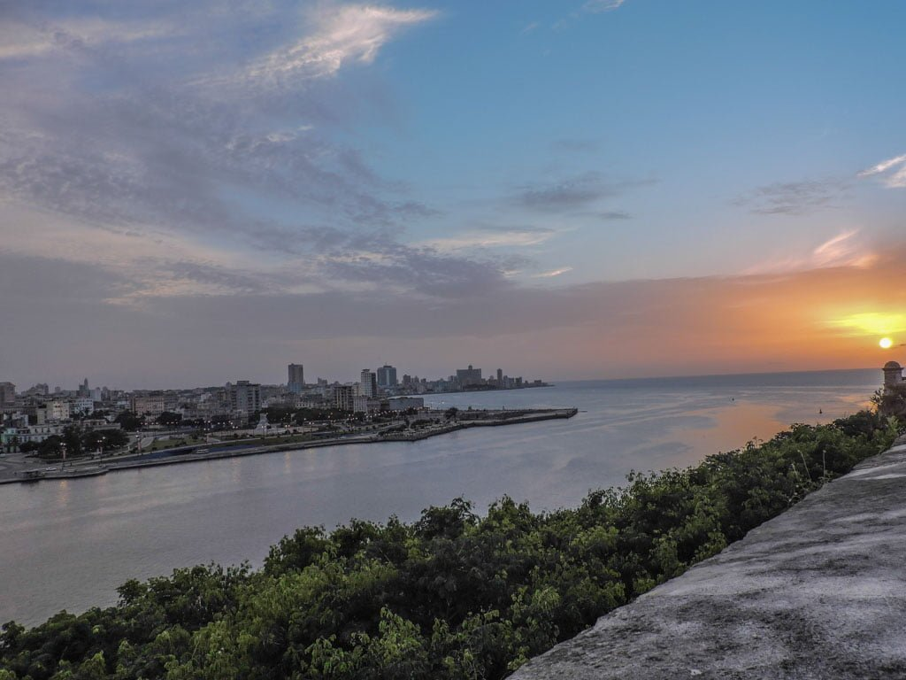 Havana from Fort I Cuban Currency