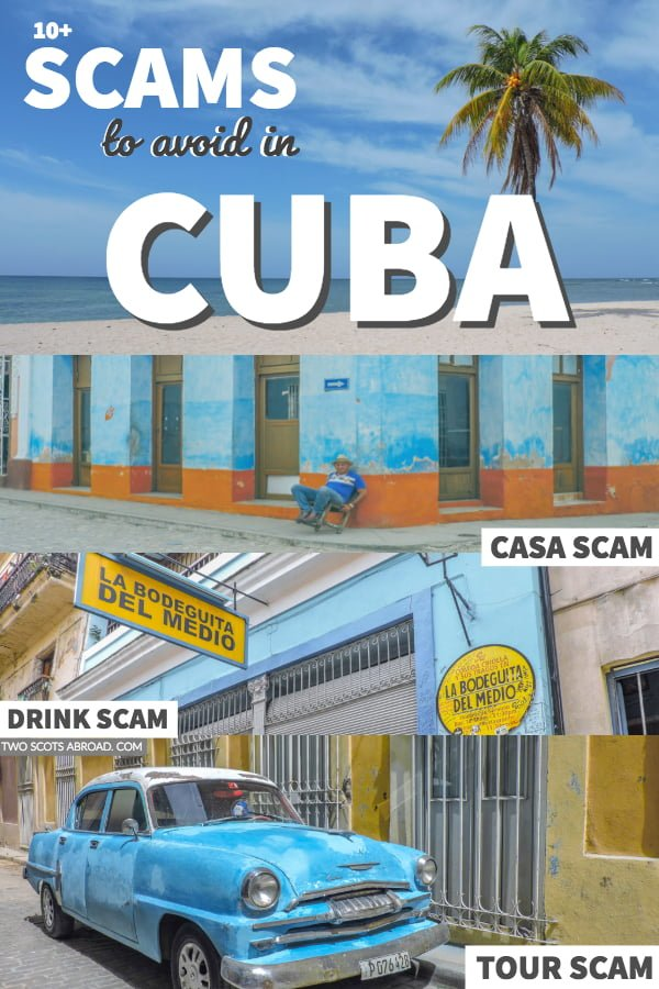 Scams to avoid in Cuba - Cuba is safe but there are lots of scams! Click to find out how to avoid them.