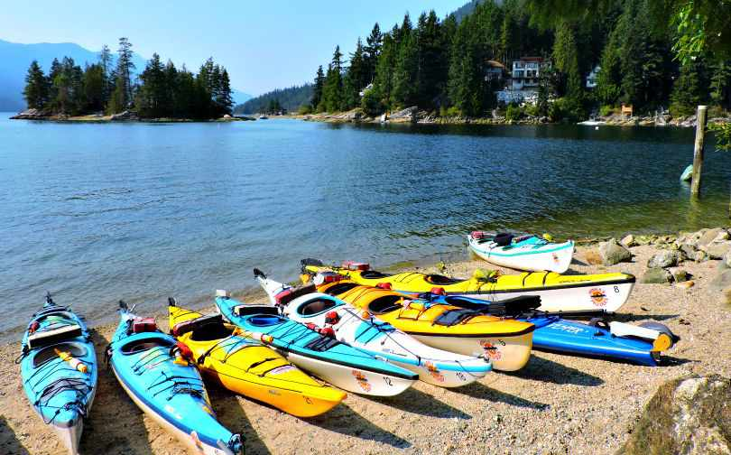 Sechelt Inlet Pedals and Paddles Photo of the Fortnight 10
