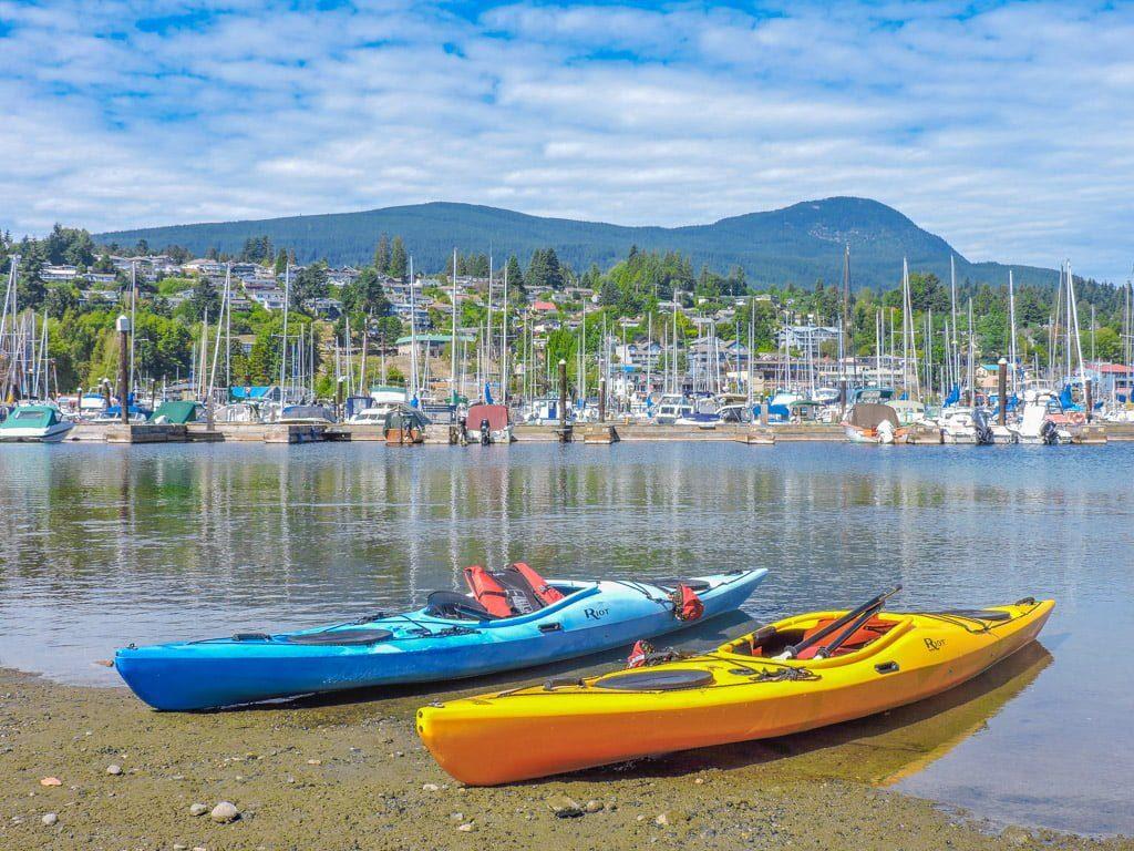 Kayaking Gibsons Sunshine Coast BC