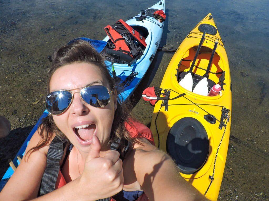 Kayaking Sunshine Coast BC
