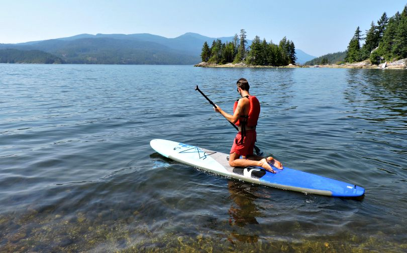 Paddles and Pedals Sechelt Inlet