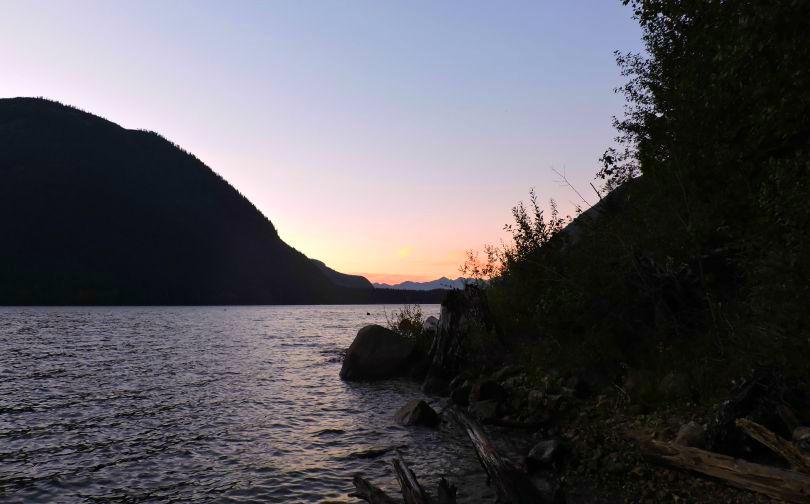 Super Natural B.C Sunset Jones Lake Photo of the Fortnight 12