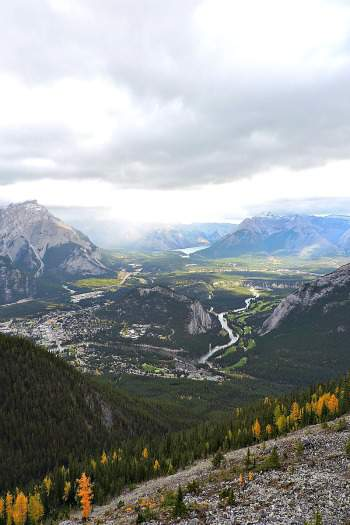 Banff National Park Canadian Rockies West Trek Tours