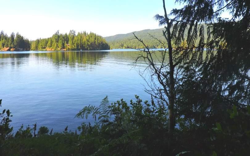 Ruby Lake Sunshine Coast BC, Canada